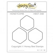 Honey Bee Stamps - Honeycomb