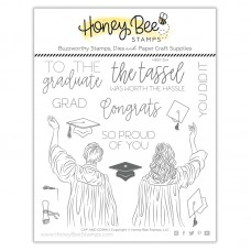 Honey Bee Stamps - Cap And Gown