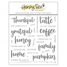Honey Bee Stamps - Bitty Buzzwords: Fall