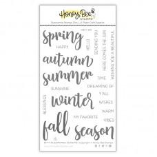 Honey Bee Stamps - Bitty Buzzwords: Seasons