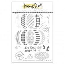 Honey Bee Stamps - Patchwork Pumpkin