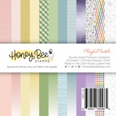 Honey Bee Stamps - Playful Pastels Paper Pad