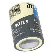 Info Notes - Roll Notes - Self-Adhesive Sticky Notes on a Roll - Refill