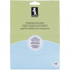 "Inkadinkado Stamping Mask Paper 5x7"" (12 sheets)"