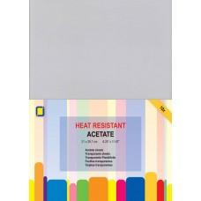 Jeje - Heat-Resistant Transparent Acetate Sheets A4 (10 sheets)