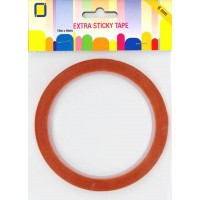 Jeje - Extra Sticky Double-sided Adhesive Tape - 6 mm