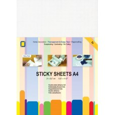Jeje - Sticky Sheets A4 - Double-sided Adhesive Foil (5 sheets)