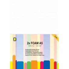 Jeje - Double-sided Sticky 3D Foam A5 - 2 mm (2 sheets)