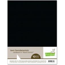 Lawn Fawn - Black Licorice Cardstock