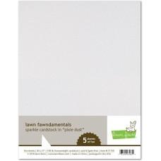 Lawn Fawn - Sparkle Cardstock - Pixie Dust
