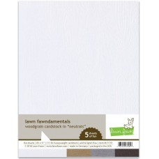 Lawn Fawn - Woodgrain Cardstock - Neutrals