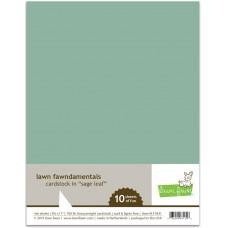 Lawn Fawn - Sage Leaf Cardstock