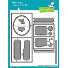 Lawn Fawn - Center Picture Window Card