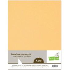 Lawn Fawn - Gold Rush Cardstock