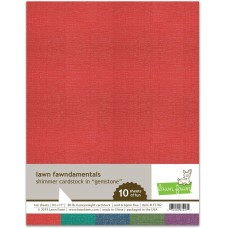 Lawn Fawn - Shimmer Cardstock - Gemstone