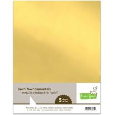 Lawn Fawn - Metallic Cardstock - Gold