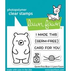 Lawn Fawn - Germ-Free Bear