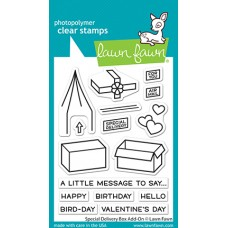Lawn Fawn - Special Delivery Box Add-On