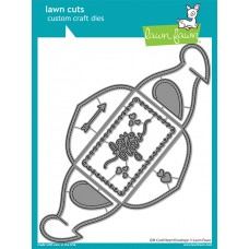 Lawn Fawn - Gift Card Heart Envelope