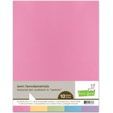Lawn Fawn - Textured Dot Cardstock - Pastels