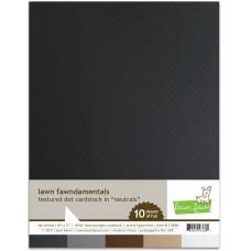 Lawn Fawn - Textured Dot Cardstock - Neutrals
