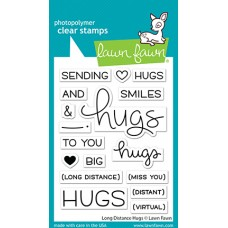 Lawn Fawn - Long Distance Hugs