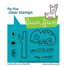 Lawn Fawn - One In A Chameleon Flip-Flop