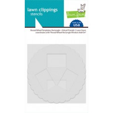 Lawn Fawn - Reveal Wheel Templates: Rectangle + Virtual Friends