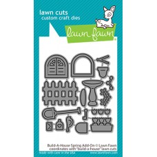 Lawn Fawn - Build-a-House Spring Add-On