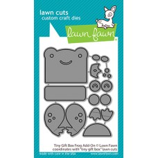 Lawn Fawn - Tiny Gift Box Frog Add-On