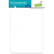 Lawn Fawn - Double Sided Adhesive Sheets (6 x 8 inch - 3 sheets)