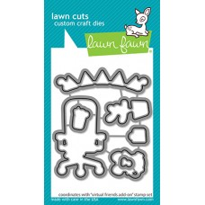 Lawn Fawn - Virtual Friends Add-On Lawn Cuts