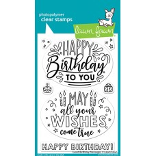 Lawn Fawn - Giant Birthday Messages