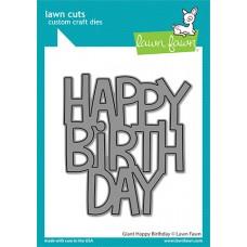 Lawn Fawn - Giant Happy Birthday