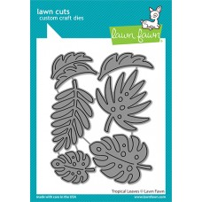 Lawn Fawn - Tropical Leaves