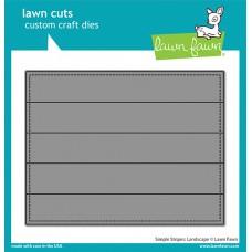 Lawn Fawn - Simple Stripes: Landscape