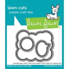Lawn Fawn - How You Bean? Mint Add-On Lawn Cuts