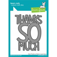 Lawn Fawn - Giant Thanks So Much