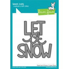 Lawn Fawn - Giant Let It Snow