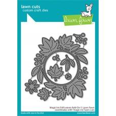 Lawn Fawn - Magic Iris Fall Leaves Add-On