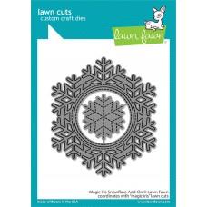 Lawn Fawn - Magic Iris Snowflake Add-On