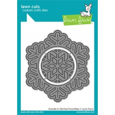 Lawn Fawn - Outside In Stitched Snowflake