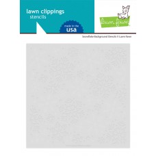 Lawn Fawn - Snowflake Background Stencils