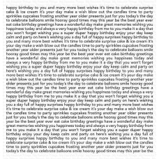 My Favorite Things - Happy Birthday Background