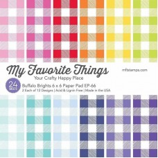 My Favorite Things - Buffalo Brights Paper Pad