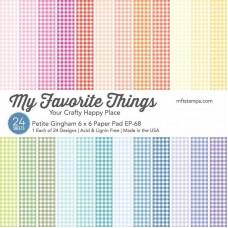 My Favorite Things - Petite Gingham Paper Pad