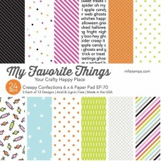 My Favorite Things - Creepy Confections Paper Pad