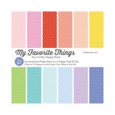 My Favorite Things - Summertime Polka Dots Paper Pad