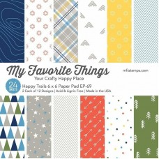 My Favorite Things - Happy Trails Paper Pad