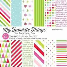 My Favorite Things - Very Merry Paper Pad
